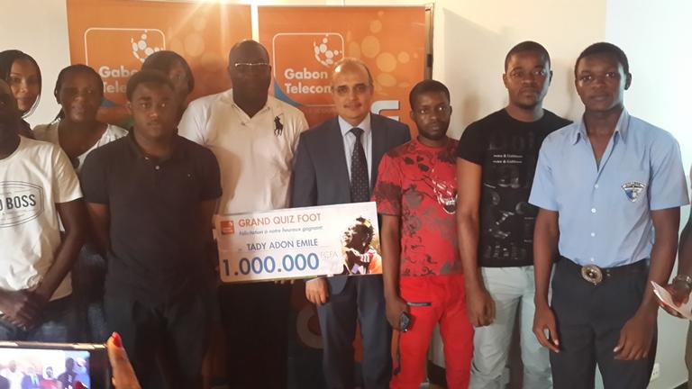 2 millions de FCFA pour deux heureux gagnants de l'opération GT quiz de Gabon Télécom