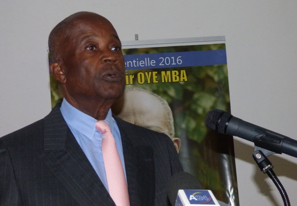 Casimir Oyé Mba souhaite que l'opposition participe aux prochaines élections législatives