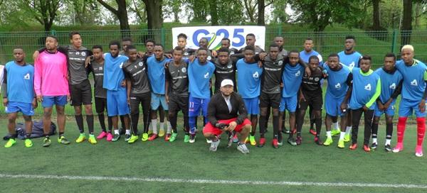 France : les gabonais de Laval remportent le trophée de la 1ere édition du tournoi de la solidarité