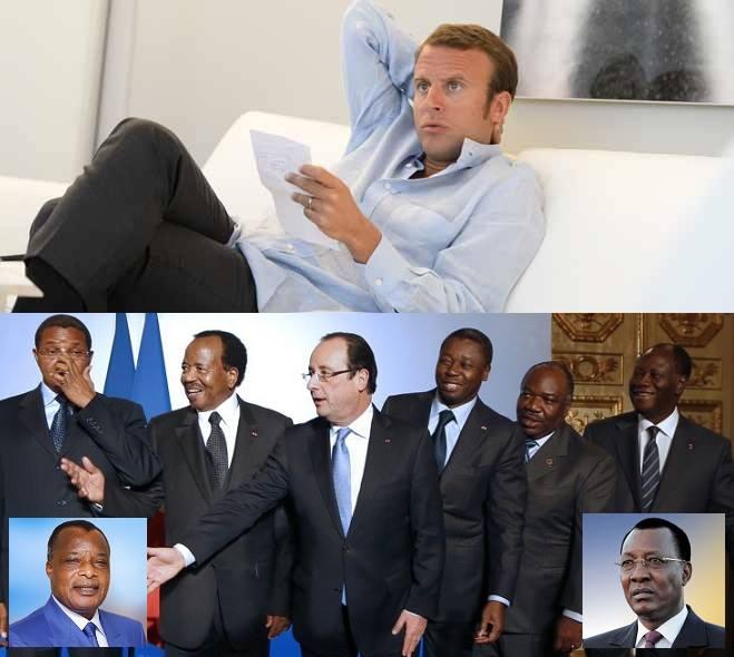 Macron le futur patron des chefs d'Etat africains (activiste gabonais)