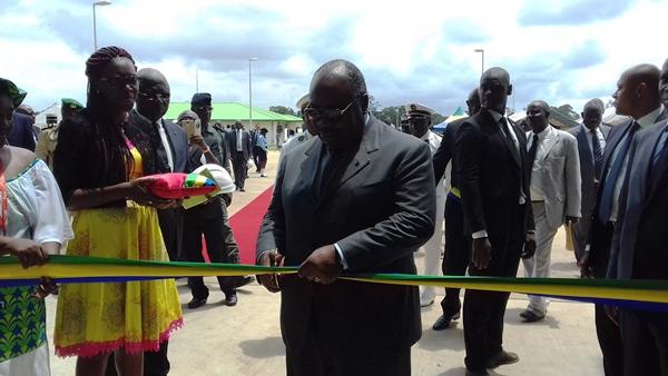 Ali Bongo a inauguré l'Usine d'huile de palme d'Olam à Mouila
