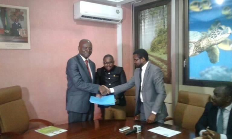 Les Collectifs des jeunes cadres de la Nyanga et Medouneu en soutien à l'action politique de Bruno Ben Moubamba