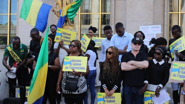 Petit clin d'œil d'Ali Bongo en vers la diaspora gabonaise du Trocadero