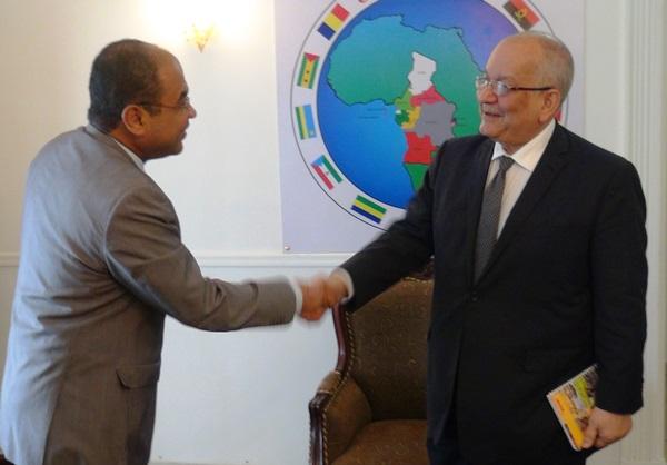 Le nouvel ambassadeur d'Egypte au Gabon s'imprègne de la situation sécuritaire en RCA