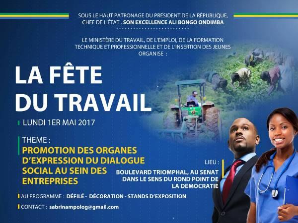 Programme de la fête du travail ce lundi à Libreville