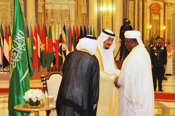 Ali Bongo a pris part au sommet de Riyad