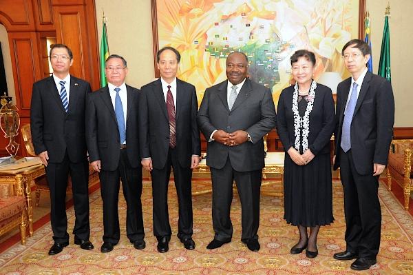 Une délégation des parlementaires chinois au palais présidentielle