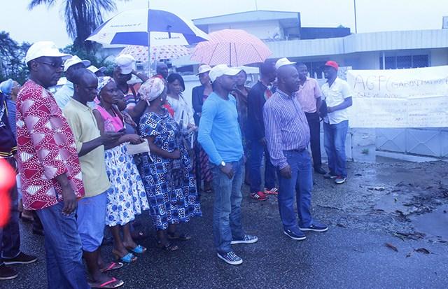 Grève à l'AGP : Les agents  exigent le départ du directeur
