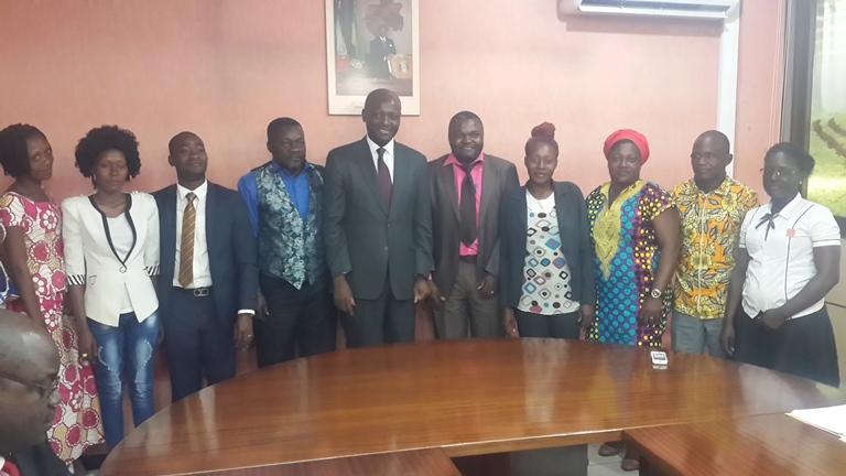 Les 9 colombes, une plateforme des  cadres pour aider Bruno Ben Moubamba à remporter les législatives à Moabi