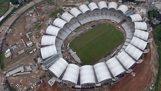 Entraco sommée d'achever urgemment les travaux du Stade Ominisport président Bongo