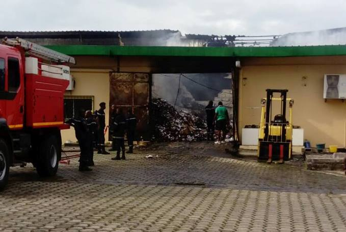 Incendie de l'Office pharmaceutique national : 400 millions de pertes