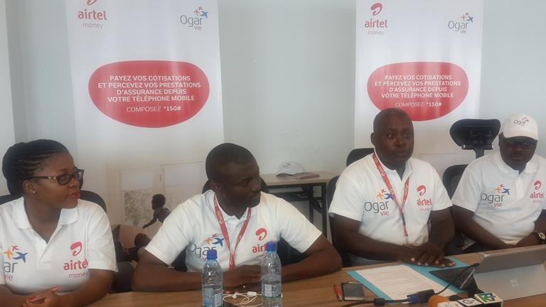 Paiement des cotisations d'assurance Ogar Vie via Airtel Money désormais possible