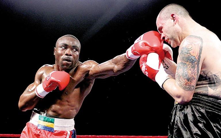 Boxe : Difficile victoire de Taylor Mabika face au Roumain Alexandru Jur