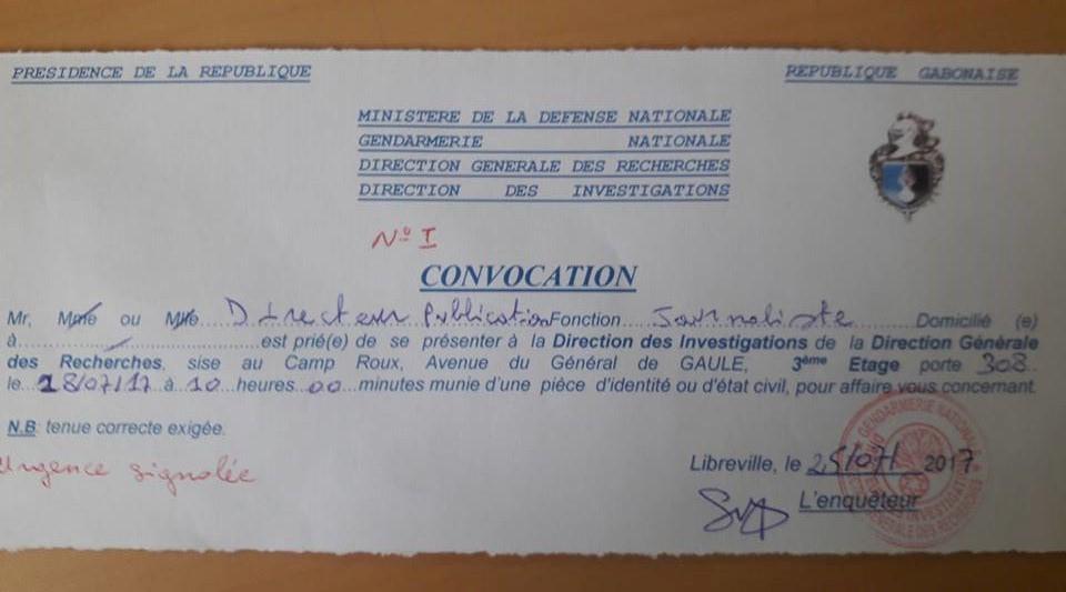 Médias : le patron du journal Le Mbadja convoqué à la DGR