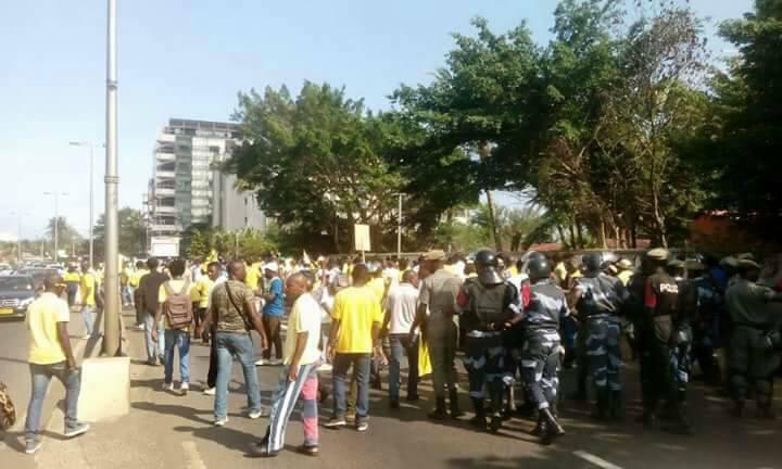Retour de Ping : la police a gâché la fête