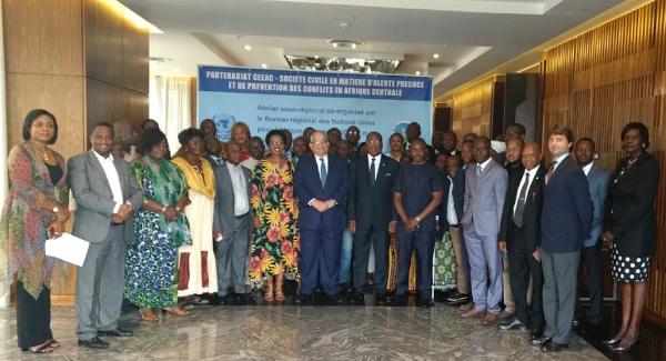 La CEEAC et la société civile planchent sur l'alerte précoce et la prévention des conflits