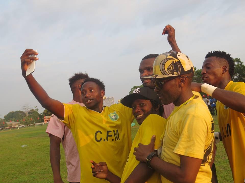 Le CF Mounana, champion du Gabon  pour la 2ème fois consécutive