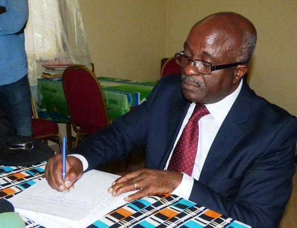 Le retrait de mon parti de la coalition de Jean Ping est définitif (David Mbadinga)