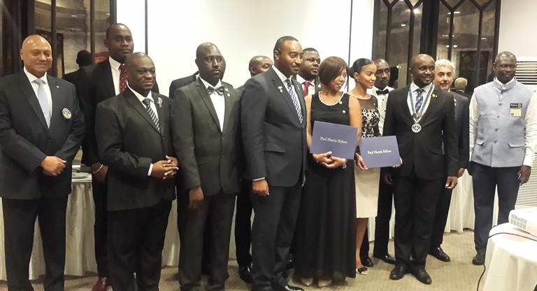 Le Rotary Club Libreville Komo : Passation des charges sous le signe du rassemblement