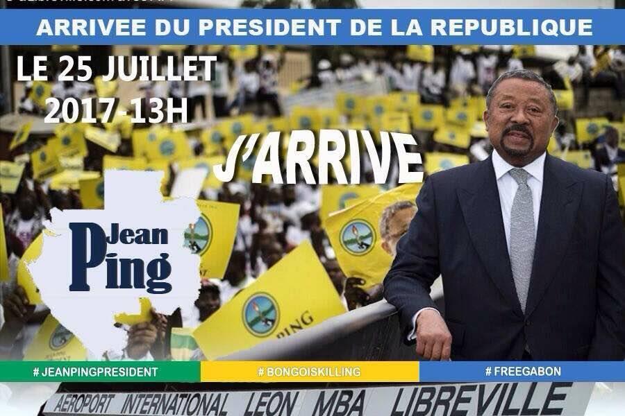 Promesses extrêmes à l'occasion du retour de Jean Ping (revue de presse)