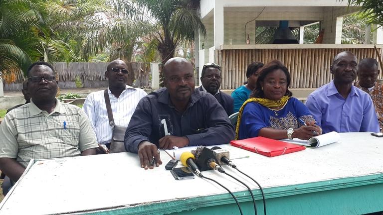 Grève de la SOGATRA : les grévistes exigent la réhabilitation des directeurs suspendus injustement par le directeur général