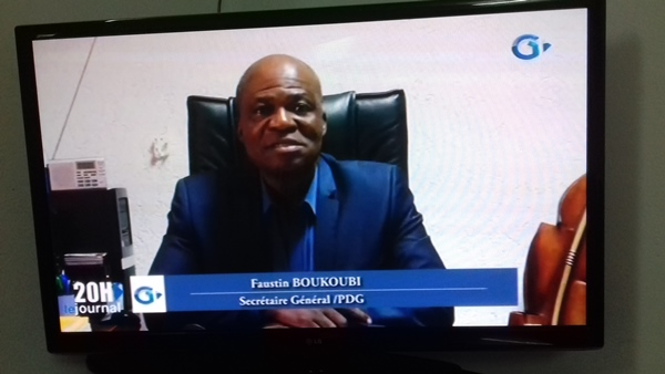 Faustin Boukoubi crache ses vomissures sur les « Amis d'Ali Bongo »