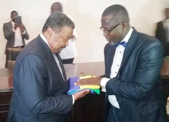 Richard Moulomba Mombo en opération de charme  ce samedi à Port-Gentil
