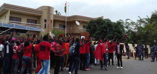 Les togolais de Libreville en colère contre le pouvoir de Faure Gnassingbé