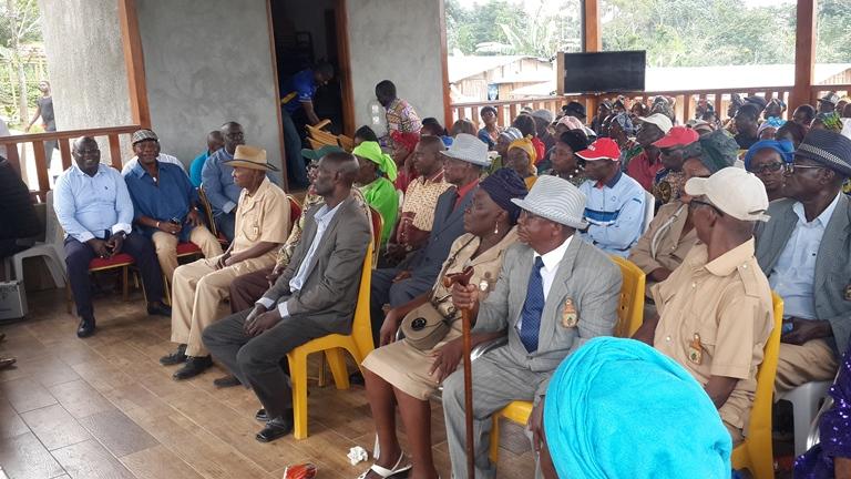 Célébration anticipée  du 57ème  anniversaire de l'indépendance du Gabon à Ekouk dans la symbiose
