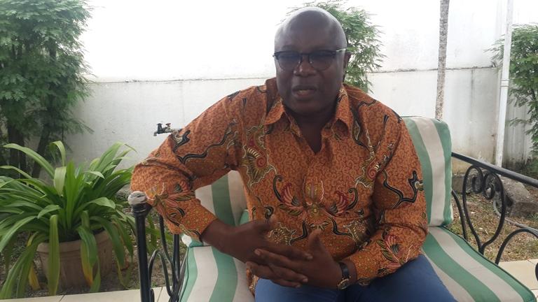C'est un sentiment de lourde responsabilité qui nous incombe désormais de se tenir avec droiture à côté  du chef  l'État (Pierre Claver Maganga Moussavou, VPR)