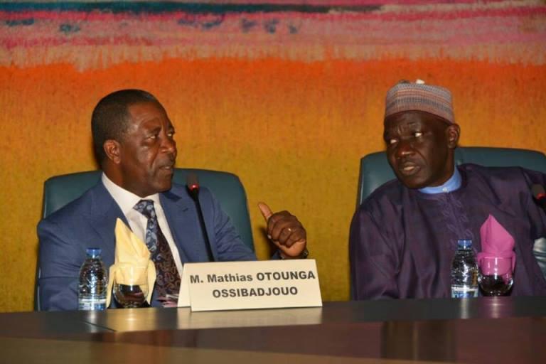 Mathias Otounga Ossibadjouo a représenté le Gabon au Comité Ministériel de l'UMAC à Yaoundé