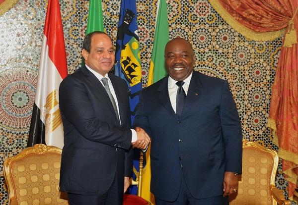 Le président Egyptien au Gabon dans le cadre d'une mini-tournée africaine