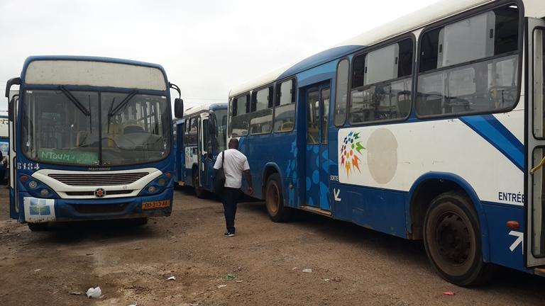 Grève à SOGATRA : 10 bus pour le service minimum