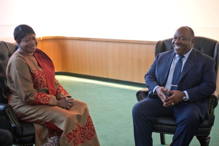 72ème Assemblée générale de l'ONU : Ali Bongo a reçu en audience Fatou  Bensouda, procureur de la CPI