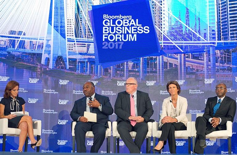 Global Business Forum : Ali Bongo  pour une action concertée contre les changements climatiques