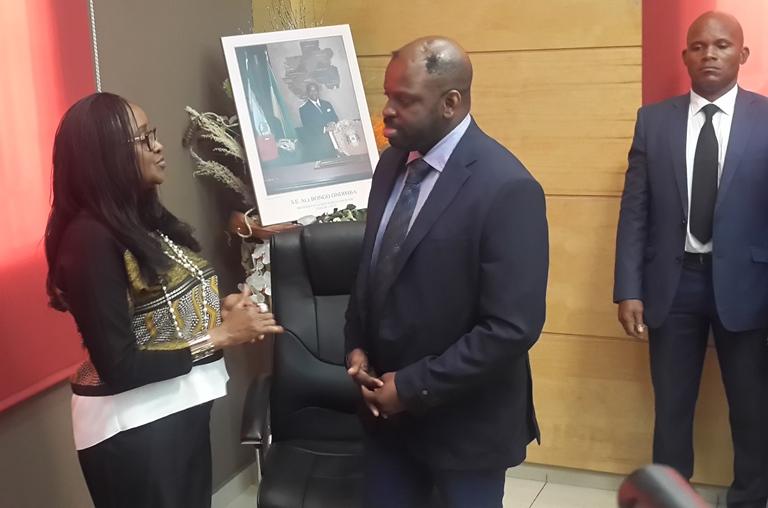 Fabrice Andjoua Bongo Ondimba prend les commandes de la DGBFIP