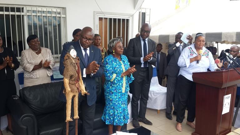 Maganga Moussavou célébré par ses militants pour sa nomination au poste de Vice-Président  de la République
