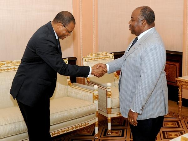 Le patron de la BDEAC en tournée de popote au Gabon