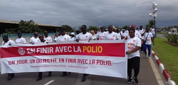 Une marche à Libreville pour donner l'assaut final contre la polio au Gabon