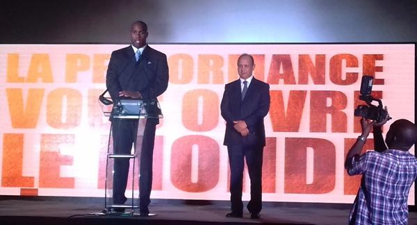 Teddy Riner désigné ambassadeur de Maroc Télécom en Afrique