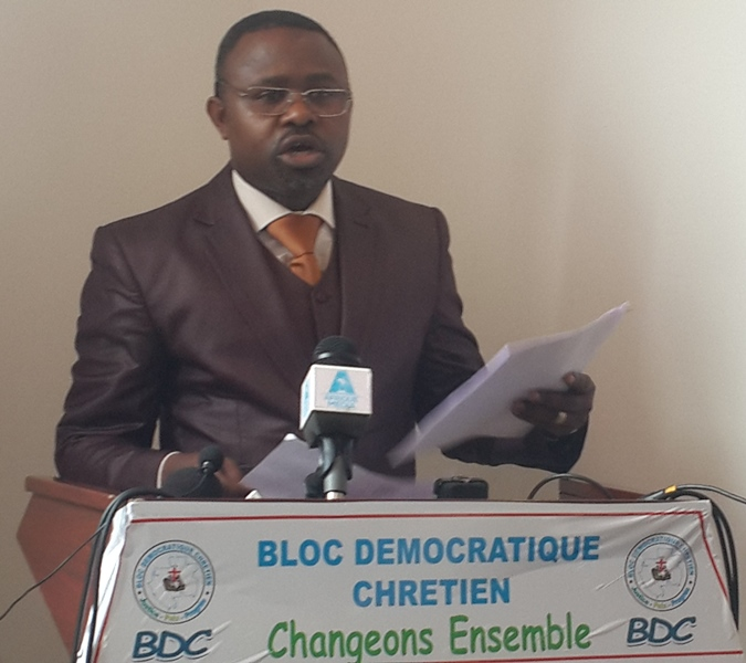Nous pensons que le PDG à l'étape actuelle, est un premier danger pour le Gabon (Guy Christian Mavioga, porte-parole de la majorité présidentielle)