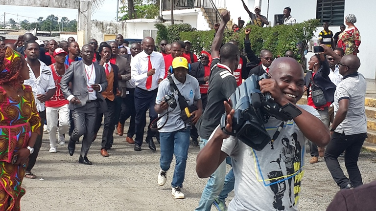 Malgré sa sortie du gouvernement Bruno Ben Moubamba réaffirme son alliance  avec Ali Bongo