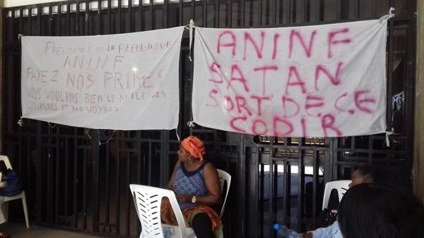ANINF: le personnel en grève pour réclamer 1 an d'arriérés de primes