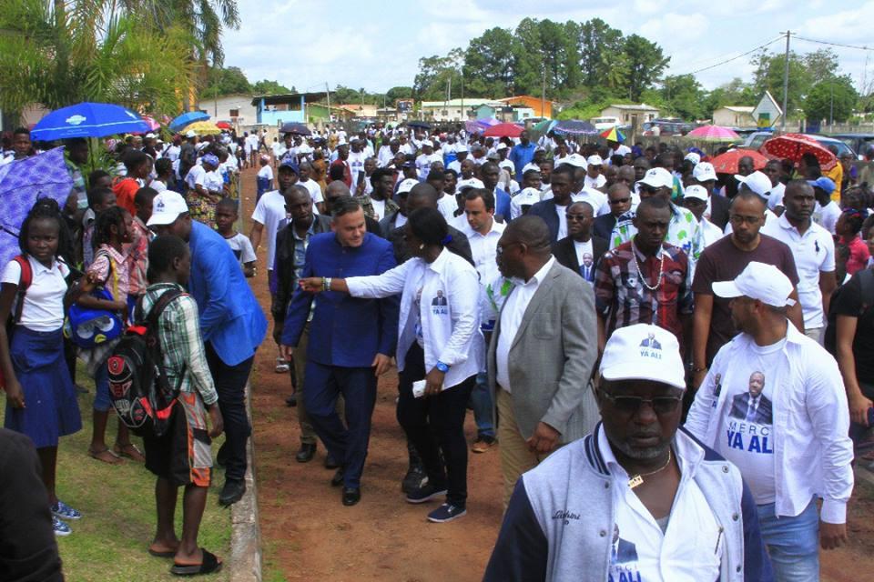 Alihanga est porteur d'un message d'Ali Bongo aux altogovéens (AJEV)