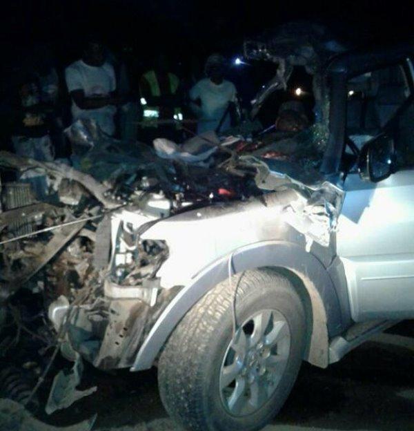 Trois morts dans un grave  accident de circulation sur la route de Makokou, au nord-est du Gabon
