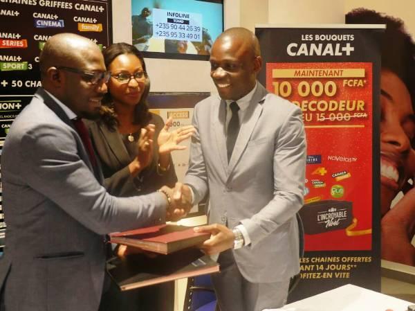 Signature d'une Convention Cadre de Partenariat «Apprentissage Jeunesse» entre CANAL+ GABON et le Fonds d'aide à l'Insertion et à la Réinsertion professionnelles (FIR)