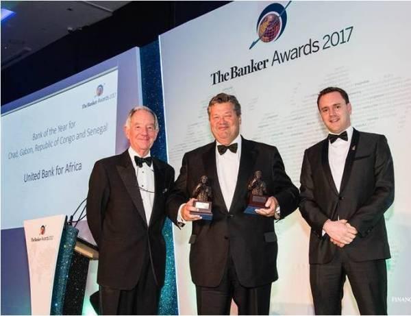 UBA remporte le prix de la Banque africaine de l'année