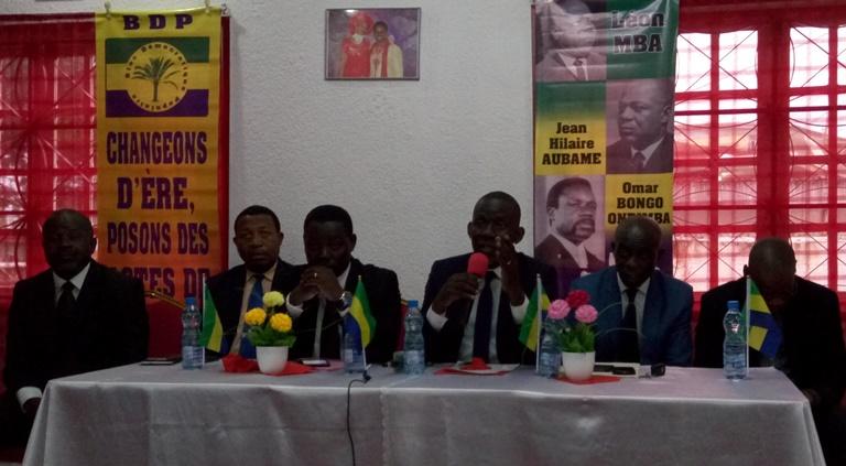 Le BDP contre le système politique hybride en vigueur au Gabon