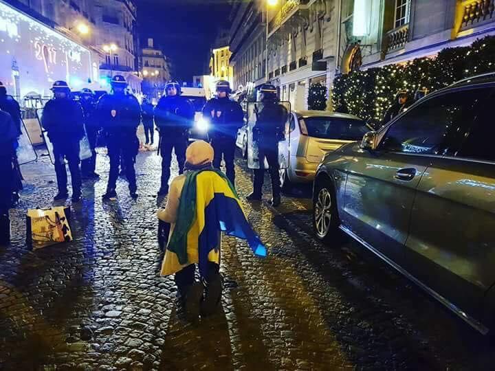 Jean Ping félicite la diaspora gabonaise pour son hostilité à la présence d'Ali Bongo à Paris