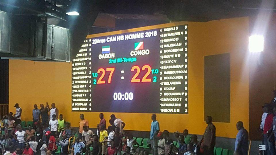CAN de handball 2018: le Gabon frappe un jolie coup contre le Congo (27-22), l'Egypte confirme
